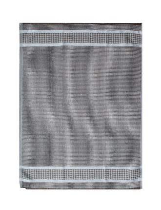 Houndstooth Waffle Tea Towel