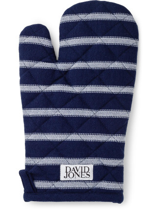 Butchers Stripe Oven Glove
