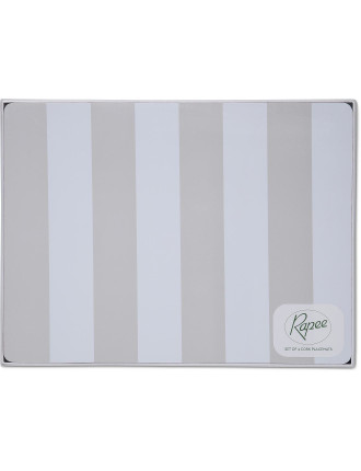 Stripe Placemat Set Of 4
