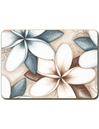Ocean Frangipani Placemats set of six