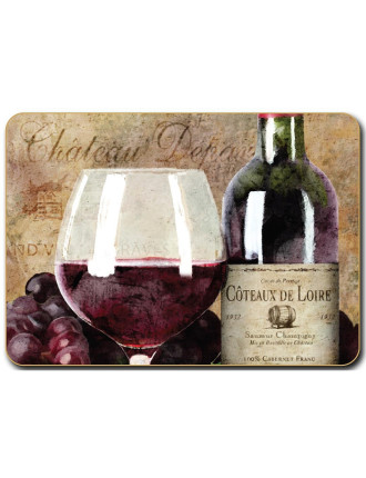 Old World Wine Placemats set of six