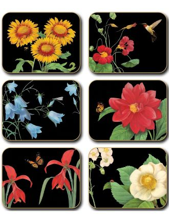 Botanicals 2 Coasters set of six