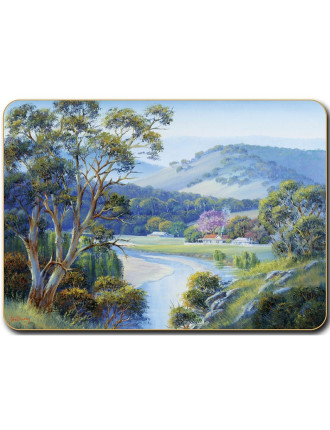 Bradley's Streams Placemats set of six