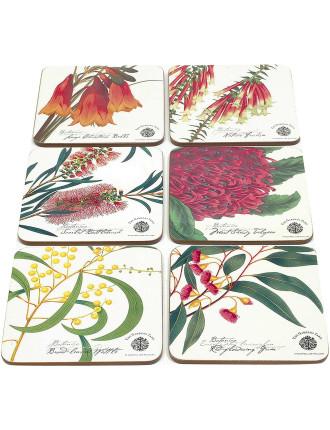 Botanic Coasters Set of 6 Assorted