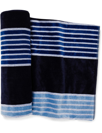 Surf Club Beach Towel