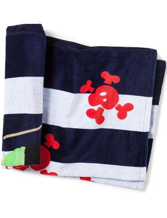 Shiver Me Timbers Kids Beach Towel