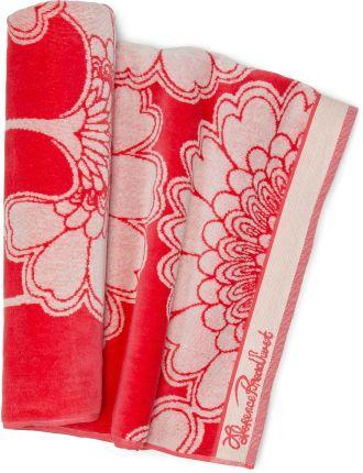 Japanese Floral Beach Towel