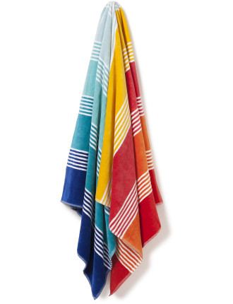 Rainbow Bay Beach Towel