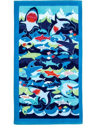 Big Bite Boys Beach Towel
