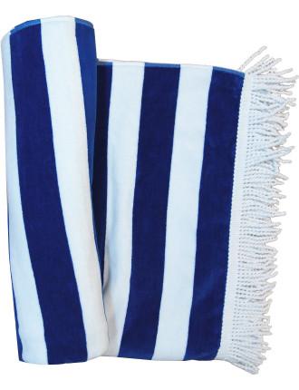 Classic Stripe Beach Towel