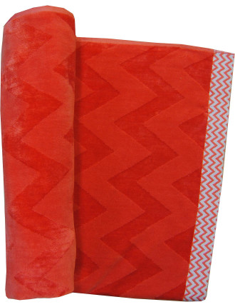 Capri Chevron Beach Towel