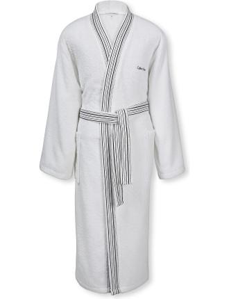 Riviera Optic White Robe Large
