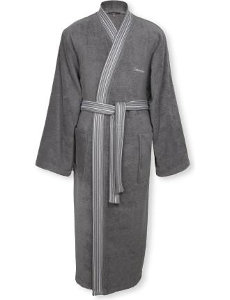 Riviera Charcoal Robe Medium
