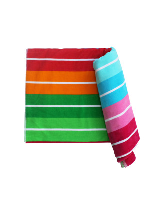 Colour Run Beach Towel