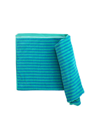 Bright Bay Beach Towel