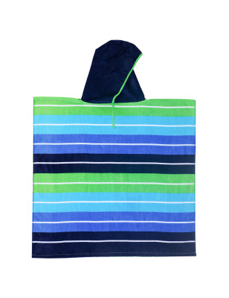 Curly Kids Beach Poncho 4-9yrs