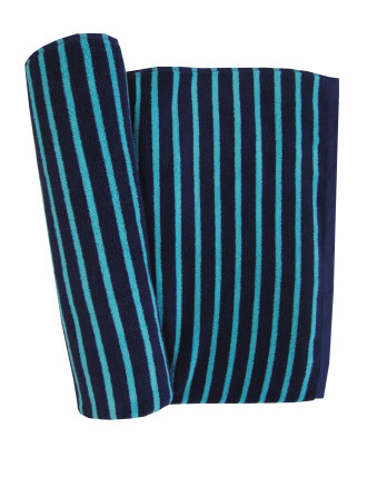 Port Stripe Beach Towel