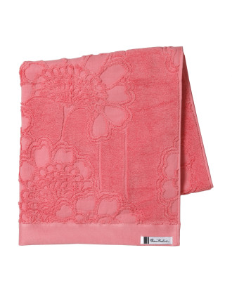 Japanese Floral Queen Bath Towel