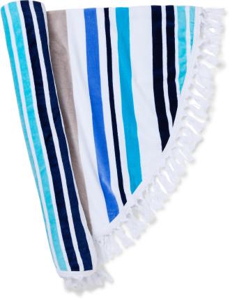 Seychelles Round Beach Towel