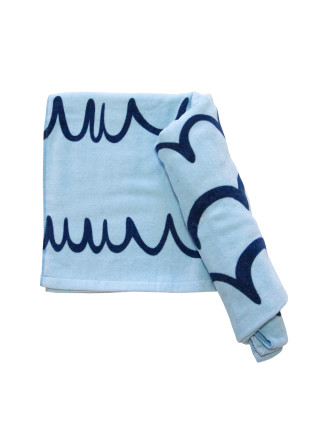 Whale Tale Kids Beach Towel