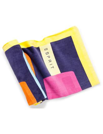 Ice Poles Beach Towel In Bag
