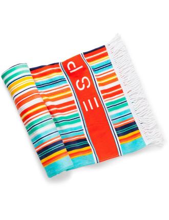 Malibu Stripe Beach Towel