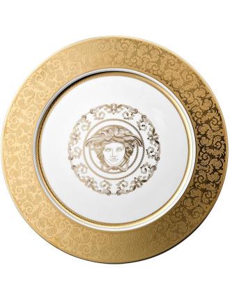 Rosenthal Versace Medusa Gala Gold Service Plate 33cm