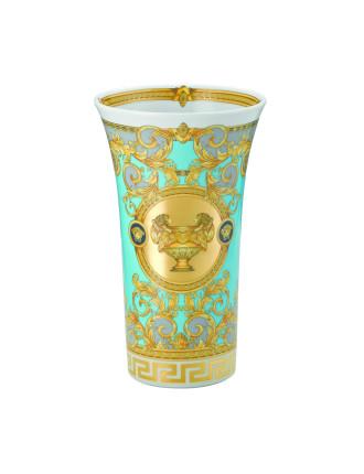 Versace Prestige Gala Vase Bleu 26cm