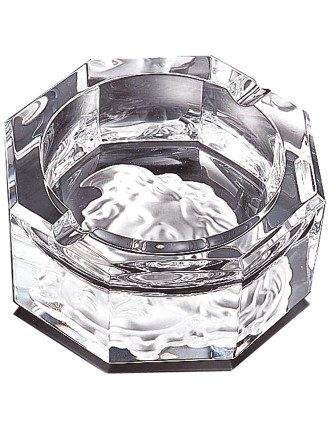 Versace Medusa Crystal Ashtray 13cm
