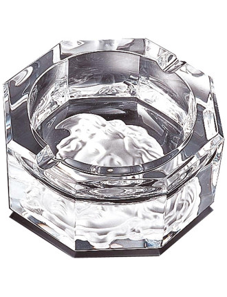 Versace Medusa Crystal Ashtray 16cm