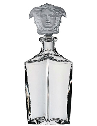 Versace Medusa Crystal Decanter Square (Treasury)
