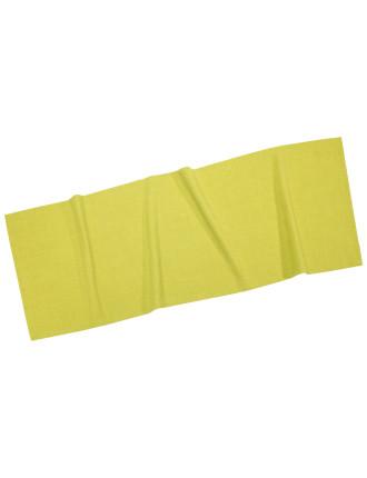 Textil Uni Trend Runner Lime