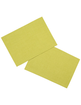 Textil Uni Trend Placemat Lime S2