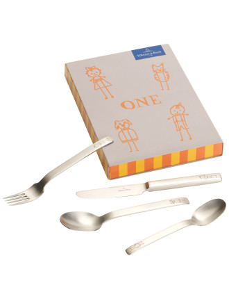 One Children Cutlery Set 4pcs