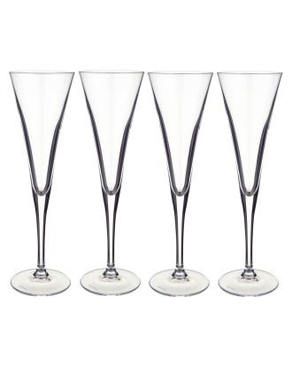 Purismo Spec. Champagne Flute S/4