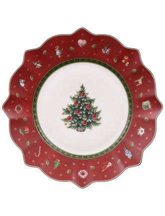Toy'S Delight Salad Plate Red