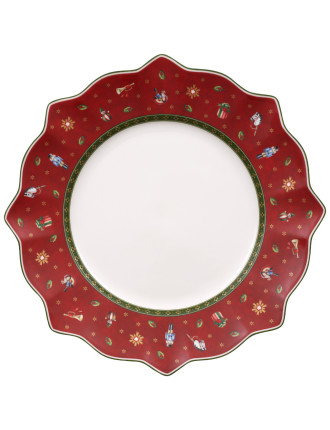 Toy'S Delight Flat Plate Red