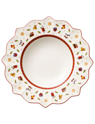 Toy'S Delight Deep Plate White