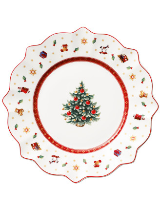 Toy'S Delight Salad Plate White