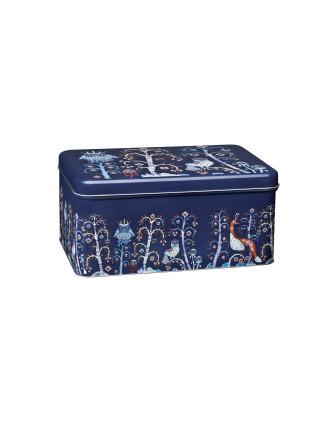 Taika Blue Metal Box 280x178x130mm