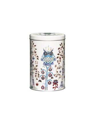 Taika White Tin Box 128x195mm