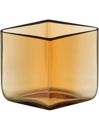 Ruutu Vase 11.5x8cm Desert