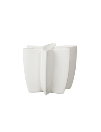 Carambola Vase 15cm White