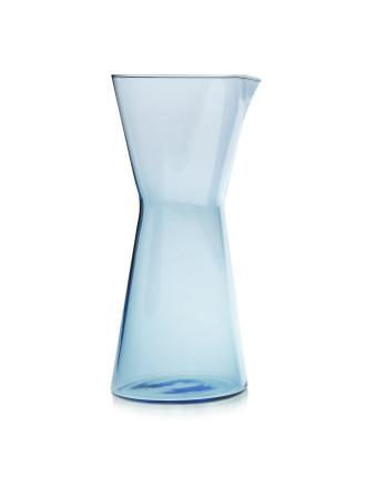 Kartio Pitcher 950ml Light Blue, Mouth Blown