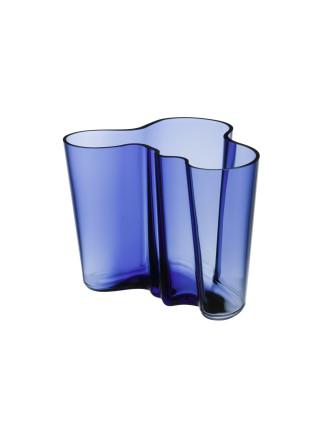 Alvar Aalto Vase 16cm Ultramarine Blue