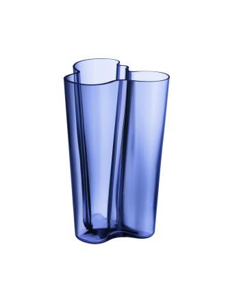 Alvar Aalto Vase 25.1cm Ultramarine Blue