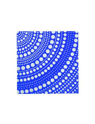 Kastehelmi Paper Napkins Ultramarine Blue