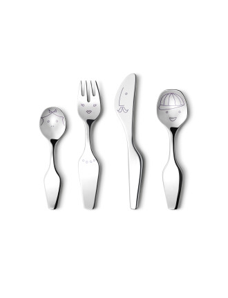 Twist Family Cutlery 4 Pcs