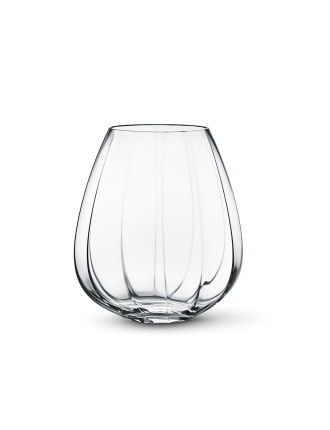 Facet Glass Vase, Large