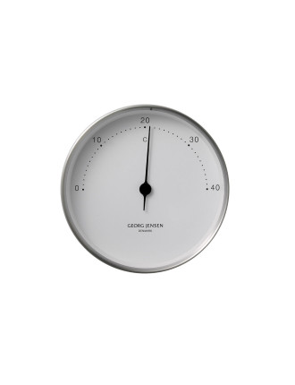 Koppel 10 Cm Thermometer Stainless Steel With White Dial